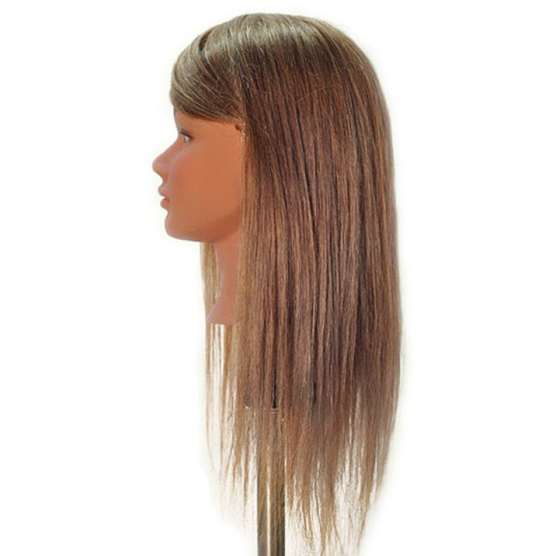 """Image 2 - Sabrina 21"""" Blonde 100% Human Hair Cosmetology Mannequin Head by Celebrity at Giell.com"""