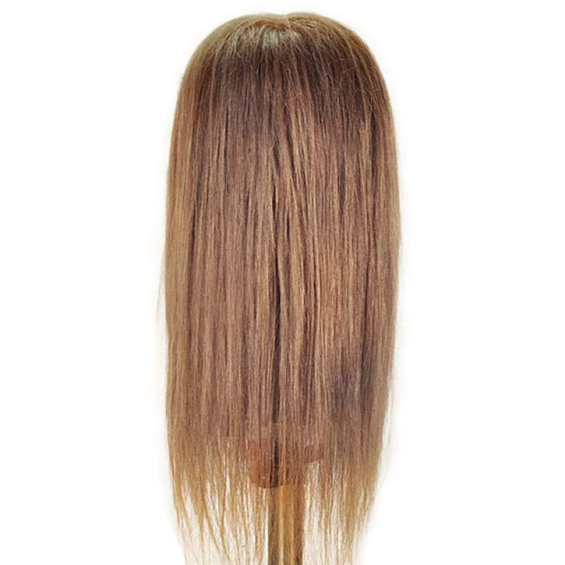 """Image 3 - Sabrina 21"""" Blonde 100% Human Hair Cosmetology Mannequin Head by Celebrity at Giell.com"""