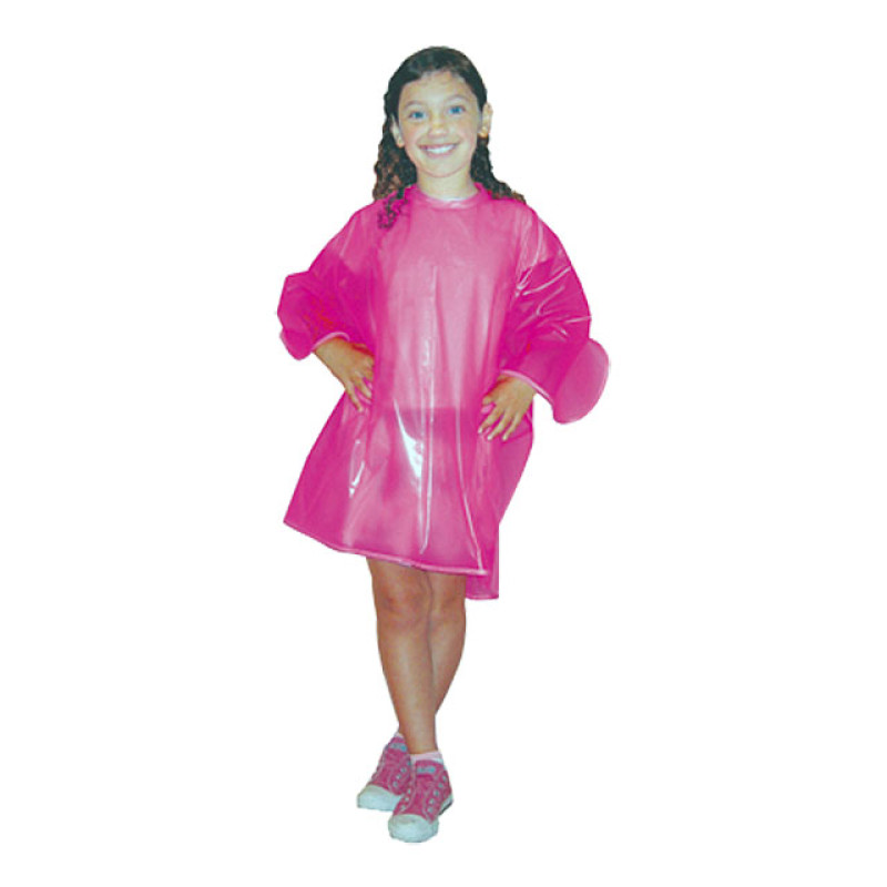 """Image 1 - 35"""" X 42"""" Child Vinyl Shampoo Cape with Velcro Closure by Scalpmaster at Giell.com"""