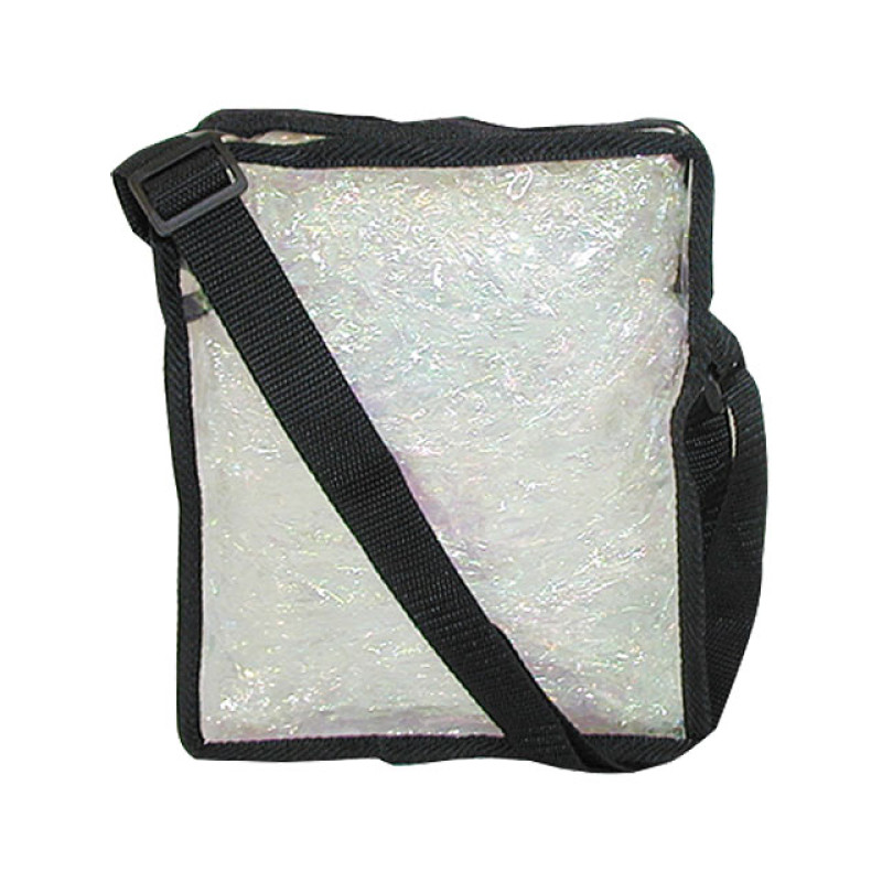 Image 1 - Small Cosmetics Clear Zippered Tote Bag by City Lights at Giell.com
