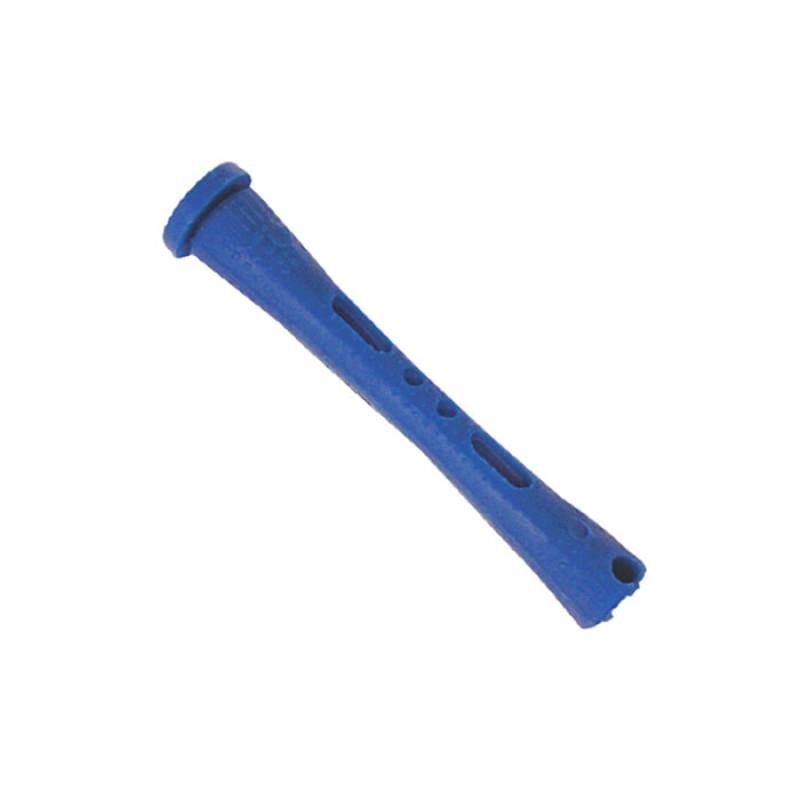 "Image 1 - 1/4"" Blue Short Cold Wave Perm Rods 12-Pack"