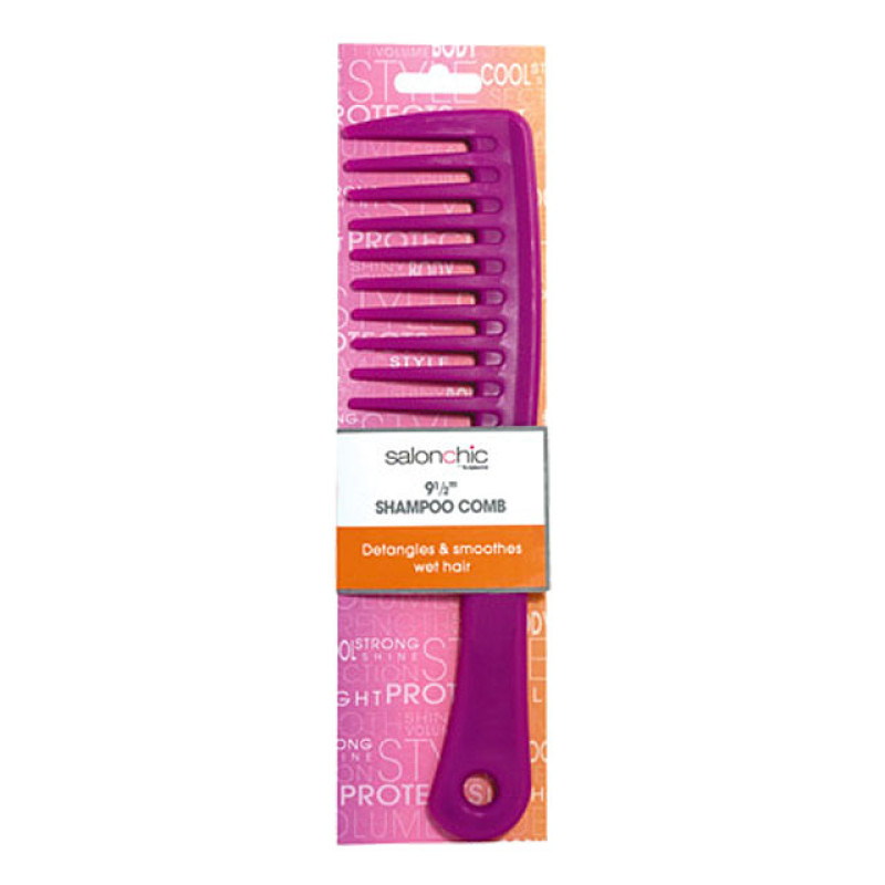 """Image 2 - 9 1/2"""" Shampoo Detangling Comb by Salon Chic at Giell.com"""