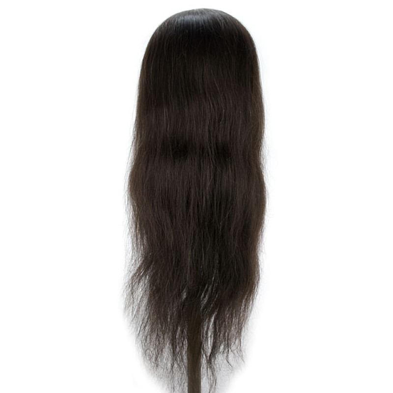 "Image 3 - Selena 30"" Super Long 100% Human Hair Cosmetology Mannequin Head by Celebrity at Giell.com"