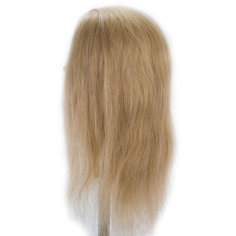 "Image 2 - Daisy 24"" Blonde 100% Human Hair Cosmetology Mannequin Head by Celebrity at Giell.com"
