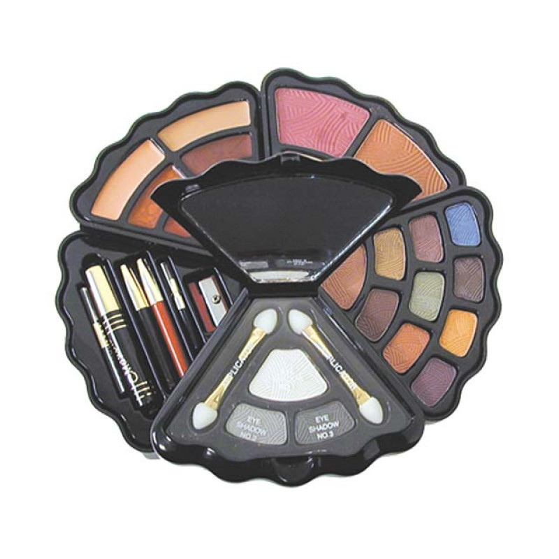Image 1 - Multi-Layered Cosmetic Makeup Compact Kit by Cameo at Giell.com