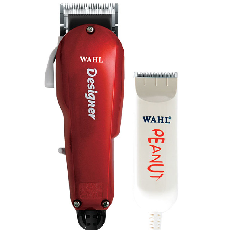 Image 1 - wahl-all-star-designer-and-peanut-combo-professional-hair-clipper-set-model-8331