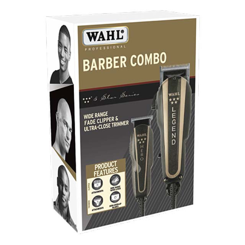 Image 2 - Wahl Barber Combo Legend Hair Clipper & Hero Trimmer at Giell.com