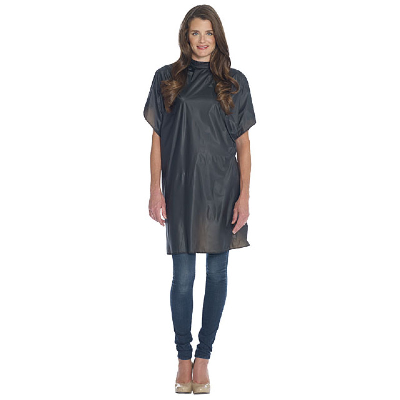 "Image 1 - 36"" X 54"" Shampoo Cape for Hair Stylist by Diane at Giell.com"
