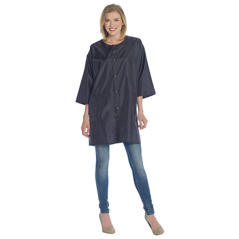 Image 1 - Smock / Jacket for Hair Stylist One Size Black Nylon by Diane at Giell.com