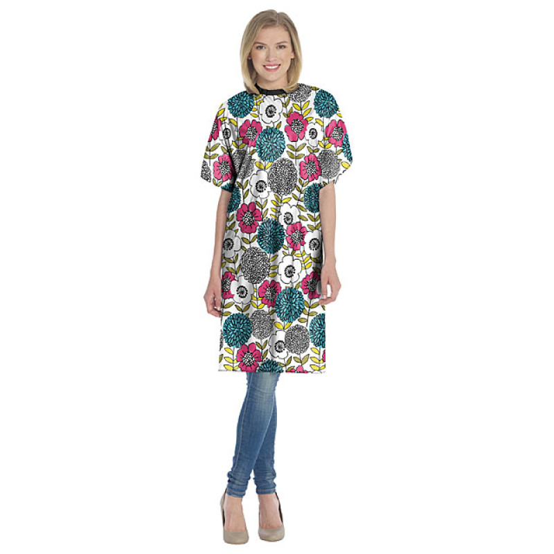 """Image 1 - 36"""" X 52"""" Vinyl Cape with Flowers Prints by Diane at Giell.com"""