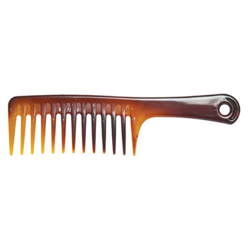 "Image 1 - 9 3/4"" Detangling Wide Shampoo Comb Tortoise"