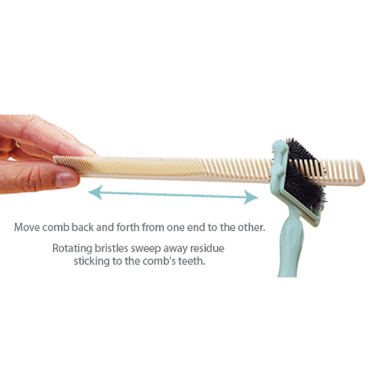 Image 4 - Hair Comb Cleaner Tool by Olivia Garden at Giell.com