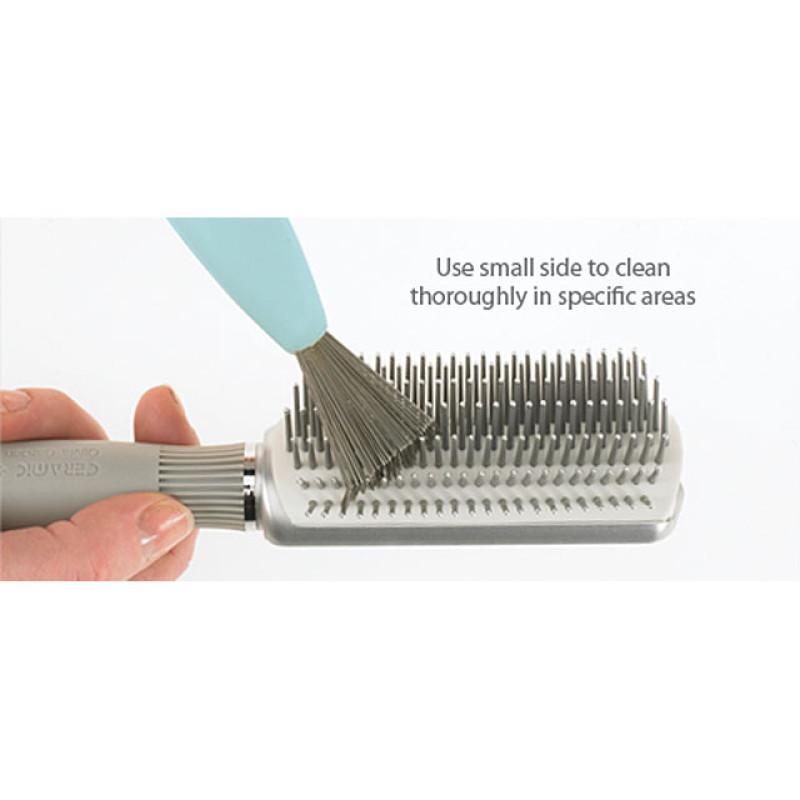 Image 2 - 2 in 1 Hair Brush Cleaner Tool by Olivia Garden at Giell.com