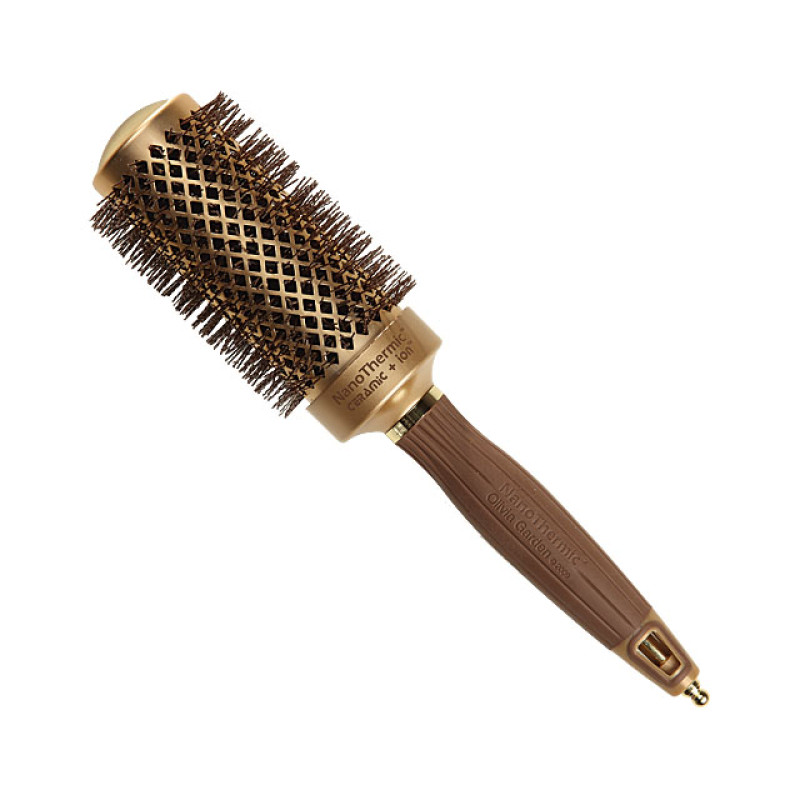 "Image 1 - 1 3/4"" Nano Thermic Round Thermal Hair Brush by Olivia Garden at Giell.com"