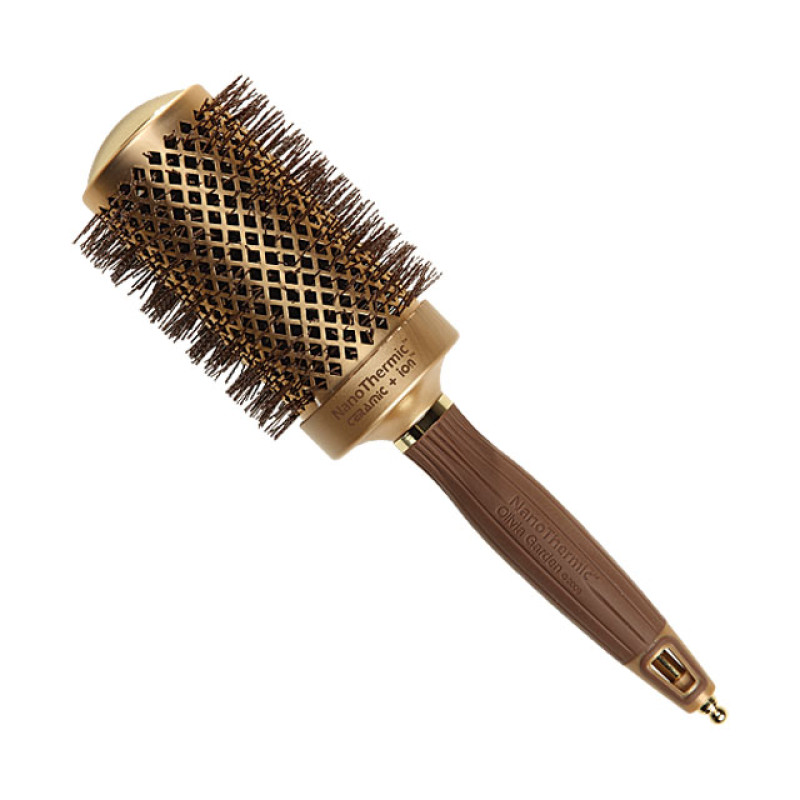 "Image 1 - 2 1/8"" Nano Thermic Round Thermal Hair Brush by Olivia Garden at Giell.com"