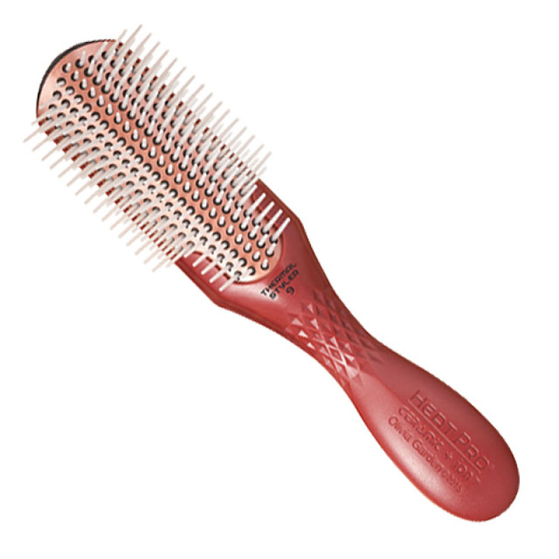 Image 1 - Heat Pro 9 Row Ceramic + Ion Thermal Styler Hair Brush by Olivia Garden at Giell.com