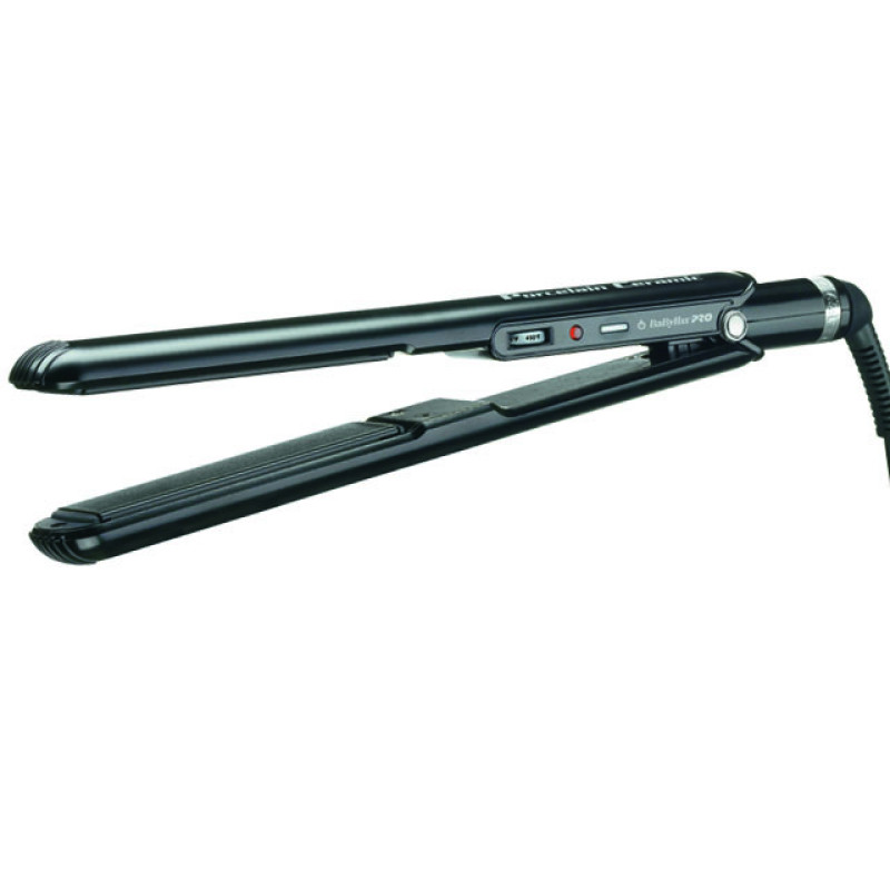"Image 1 - 1"" Hair Flat Iron Porcelain Ceramic by BaByliss Pro at Giell.com"