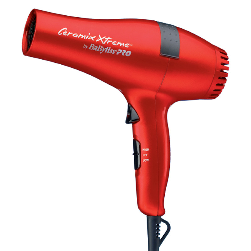 Image 1 - Red Ceramix Xtreme Hair Dryer 2000 Watts by Babyliss Pro at Giell.com