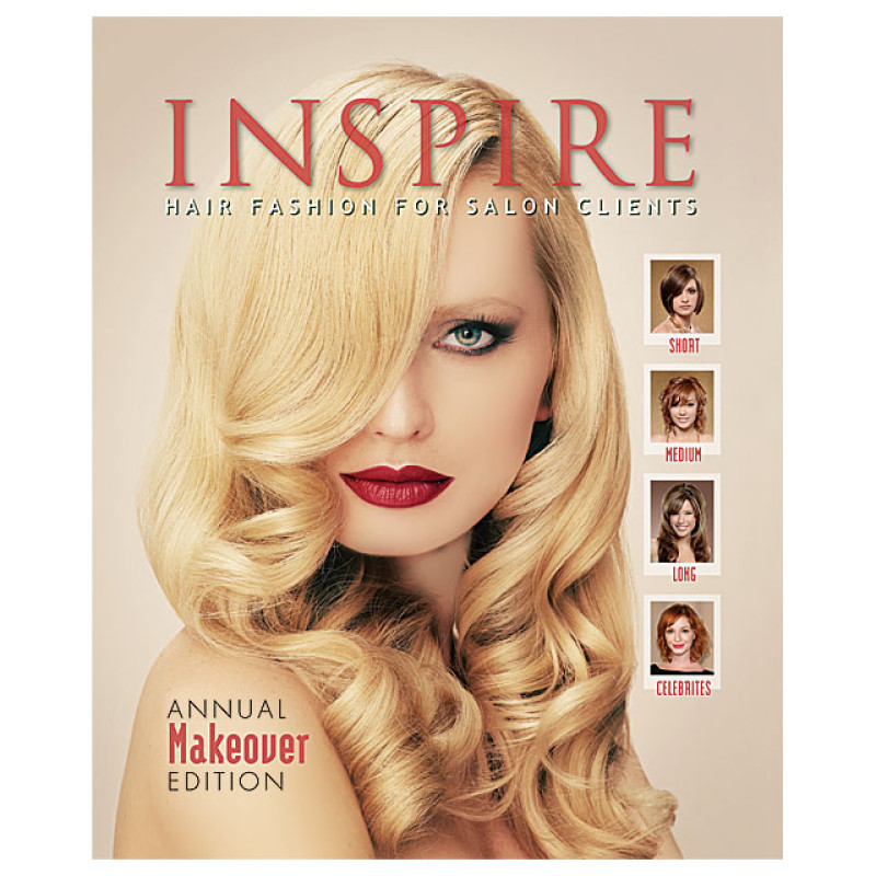 Image 1 - Vol 76 : Annual Makeover Edition - Inspire Hair Fashion Book for Salon Clients at Giell.com
