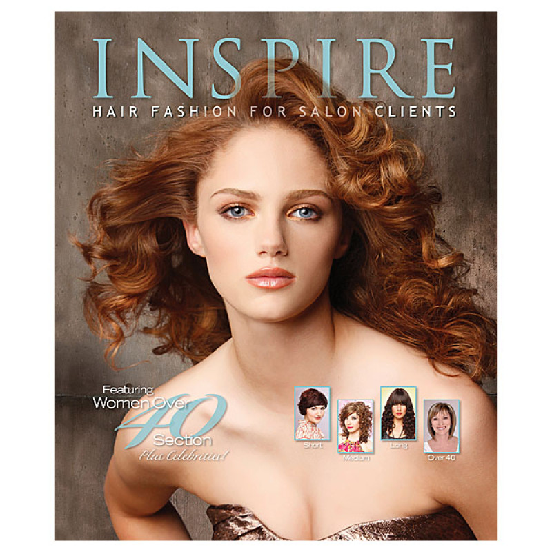Image 1 - Vol 77 : Featuring Women Over 40 - Inspire Hair Fashion Book for Salon Clients at Giell.com