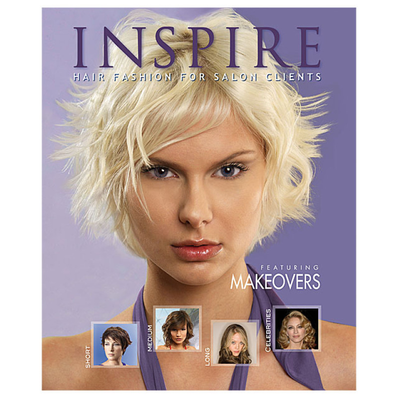 Image 1 - Vol 61 : Featuring Makeovers - Inspire Hair Fashion Book for Salon Clients at Giell.com