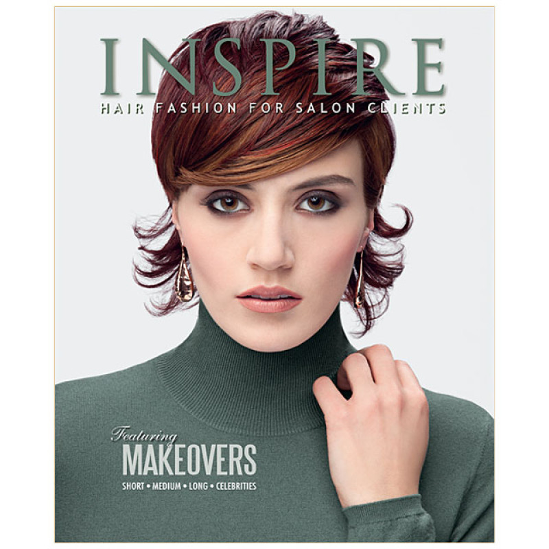 Image 1 - Vol 86 : Featuring Makeovers - Inspire Hair Fashion Book for Salon Clients at Giell.com