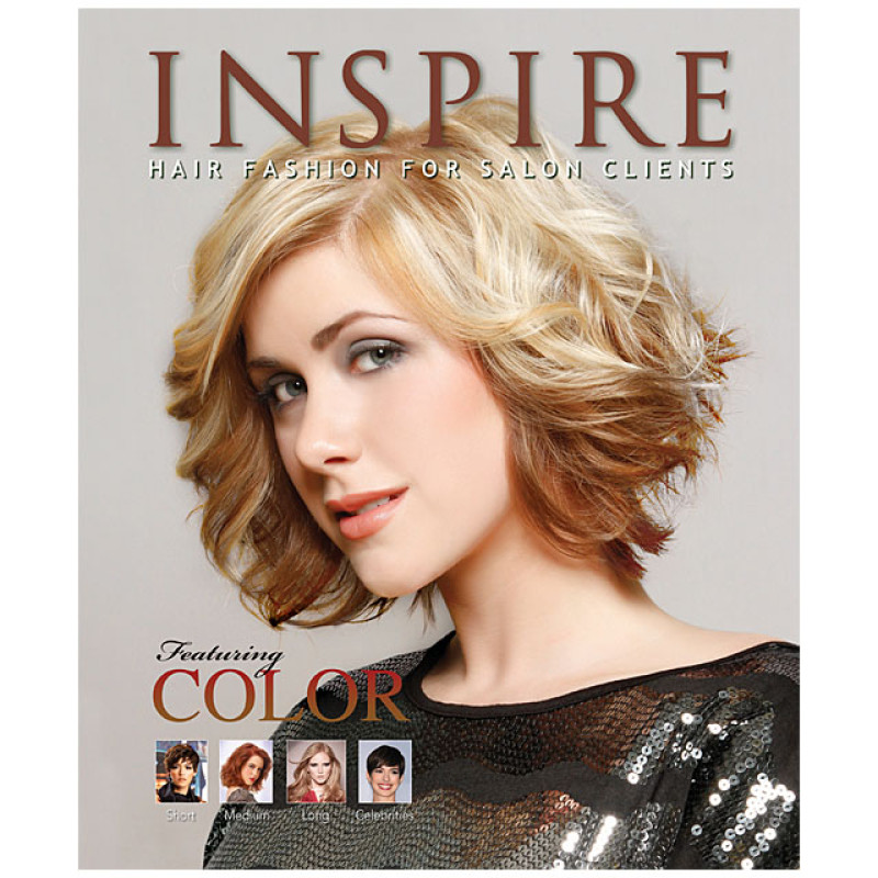 Image 1 - Vol 88 : Featuring Color - Inspire Hair Fashion Book for Salon Clients at Giell.com