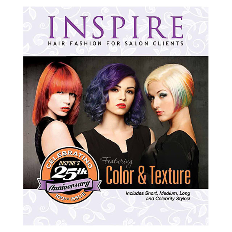 Image 1 - Vol 100 : Color & Texture - Inspire Hair Fashion Book for Salon Clients at Giell.com