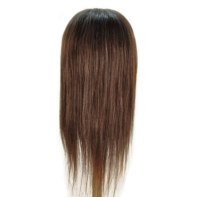 """Image 3 - Caroline 21"""" 100% Human Hair Cosmetology Mannequin Head by Giell at Giell.com"""