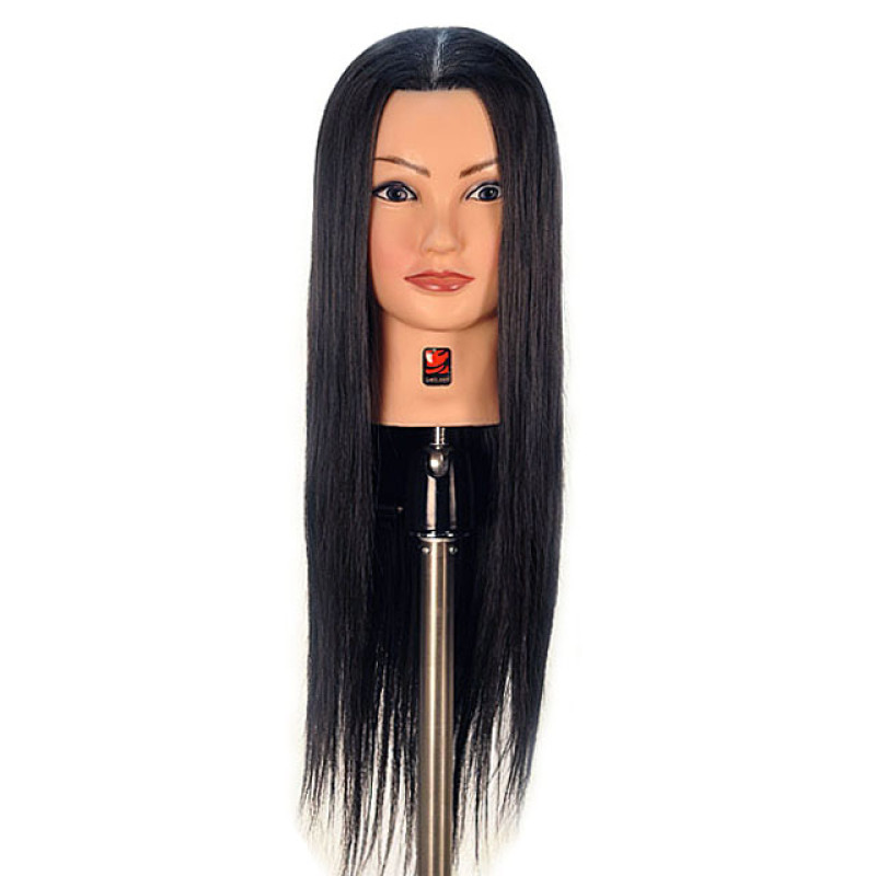 "Image 1 - Danielle 26"" Synthetic Hair Cosmetology Mannequin Head by Giell at Giell.com"