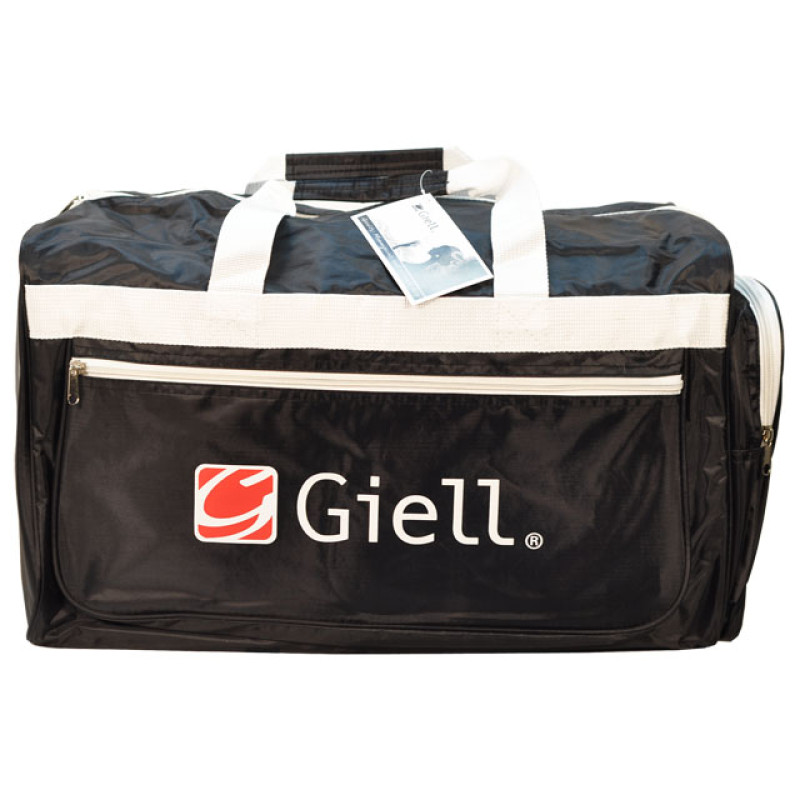 Image 1 - Nylon Tote Bag with Straps White Straps by Giell