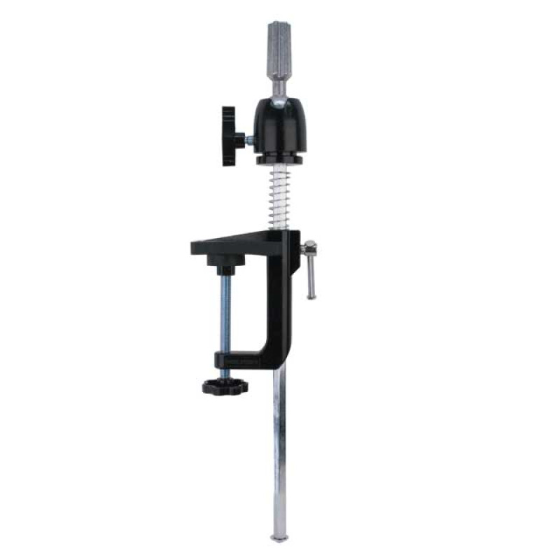 Adjustable Metal Holding Clamp for Mannequin Heads at Giell.com - 1