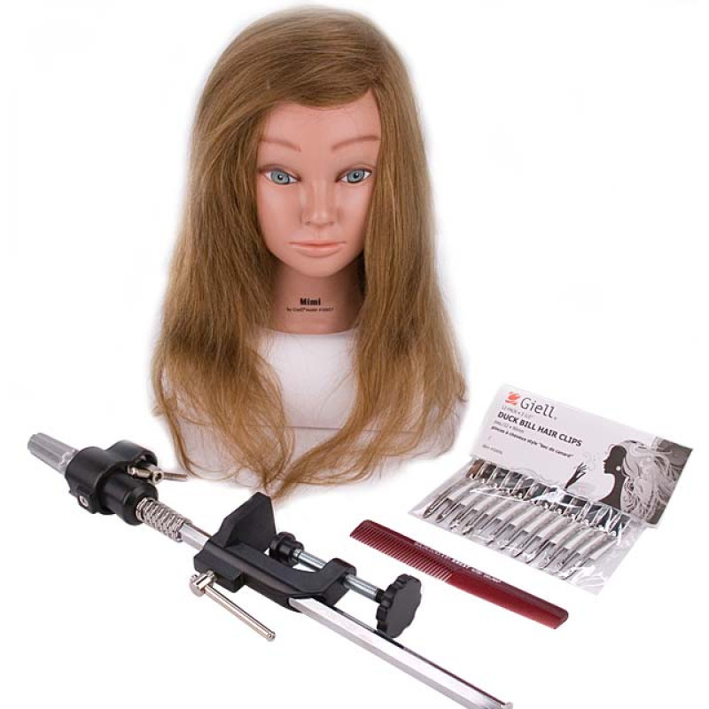 Image 1 - Head Shape Matters Student Kit - Mimi Cosmetology Mannequin