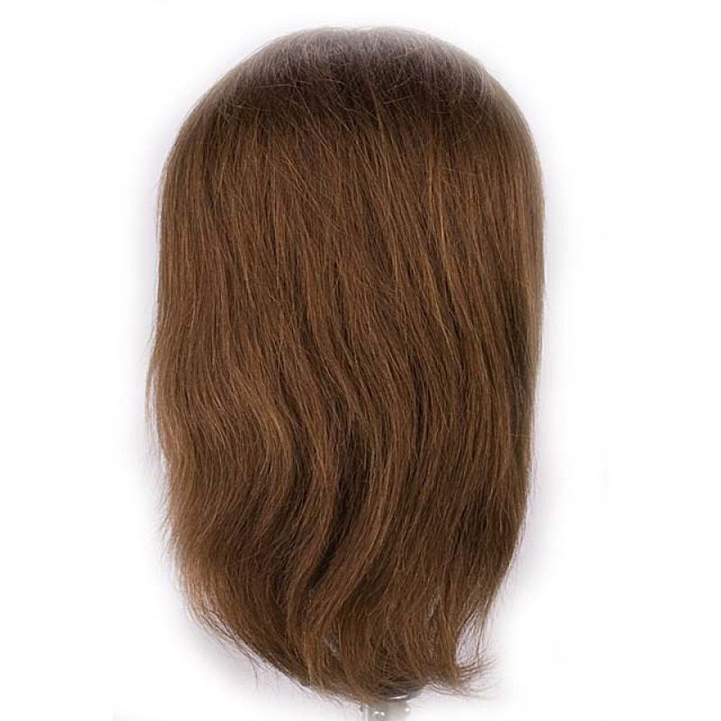 """Image 3 - Richard 17"""" Male 100% Human Hair Cosmetology Mannequin Head by Giell at Giell.com"""