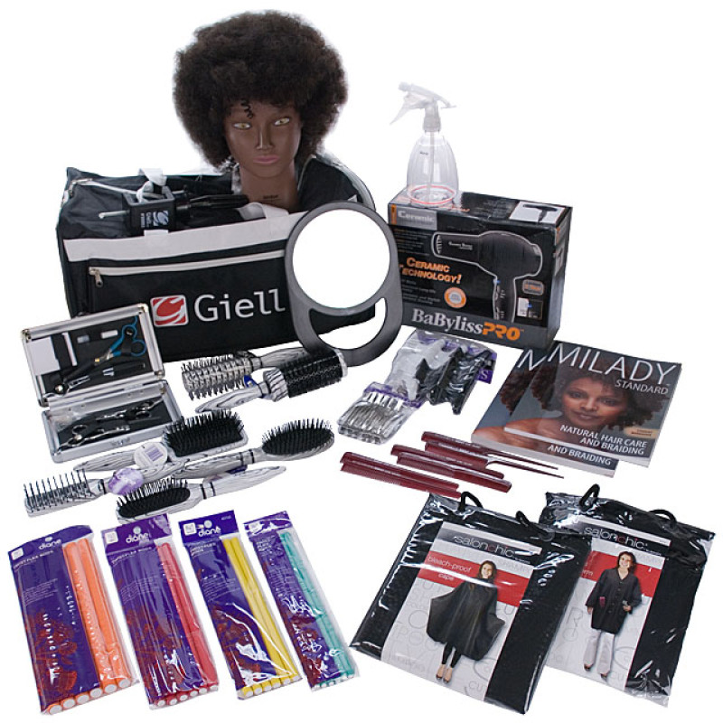 Image 1 - Natural Hair Care & Braiding Cosmetology Student Kit by Giell