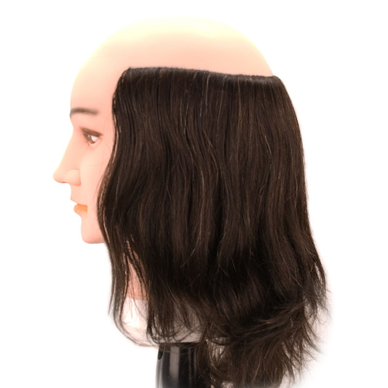Image 2 - Pierre Balding Male 100% Human Hair Cosmetology Mannequin Head by Giell