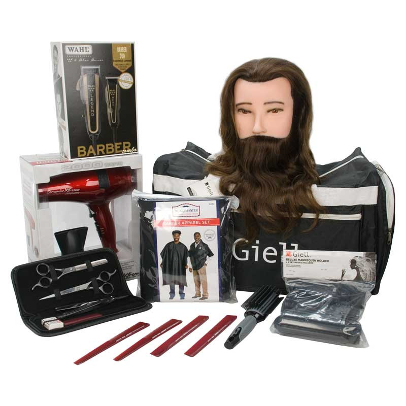 Image 1 - Intro Barber Student Kit with Wahl 5-Star Combo Set