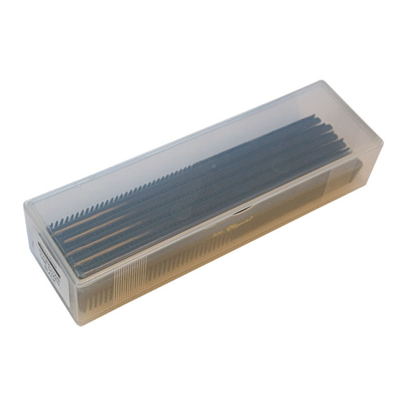 Image 2 - 12 Hair Styling Combs Black with Inch Markers Cleopatra by Krest at Giell.com