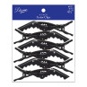 "Image 1 - 6-Pack Gator Hair Clips 4 1/2"" by Diane at Giell.com"